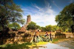 Ayutthaya Historisch Park fietstocht Thailand
