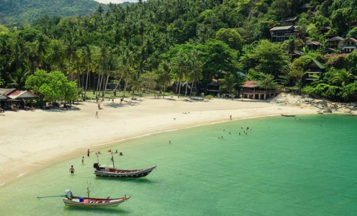 Koh Phangan, Haad Salad Beach