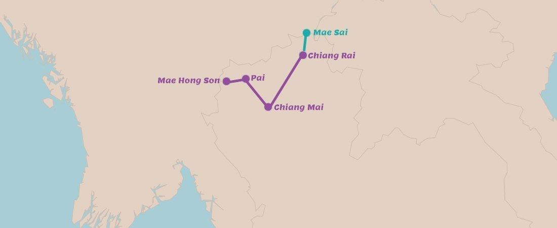 Rondreis Noord Thailand