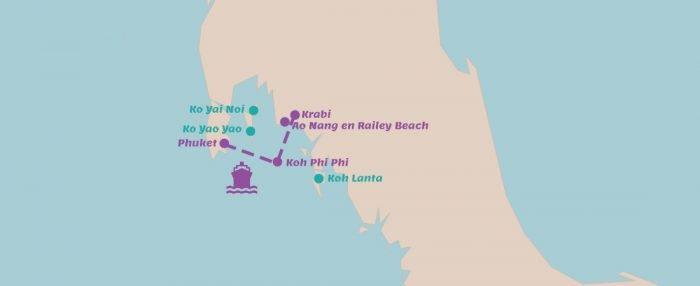 Rondreis Stranden aan de westkust van Thailand-i