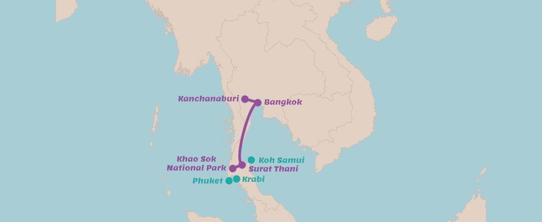Rondreis Thailand in 2 weken