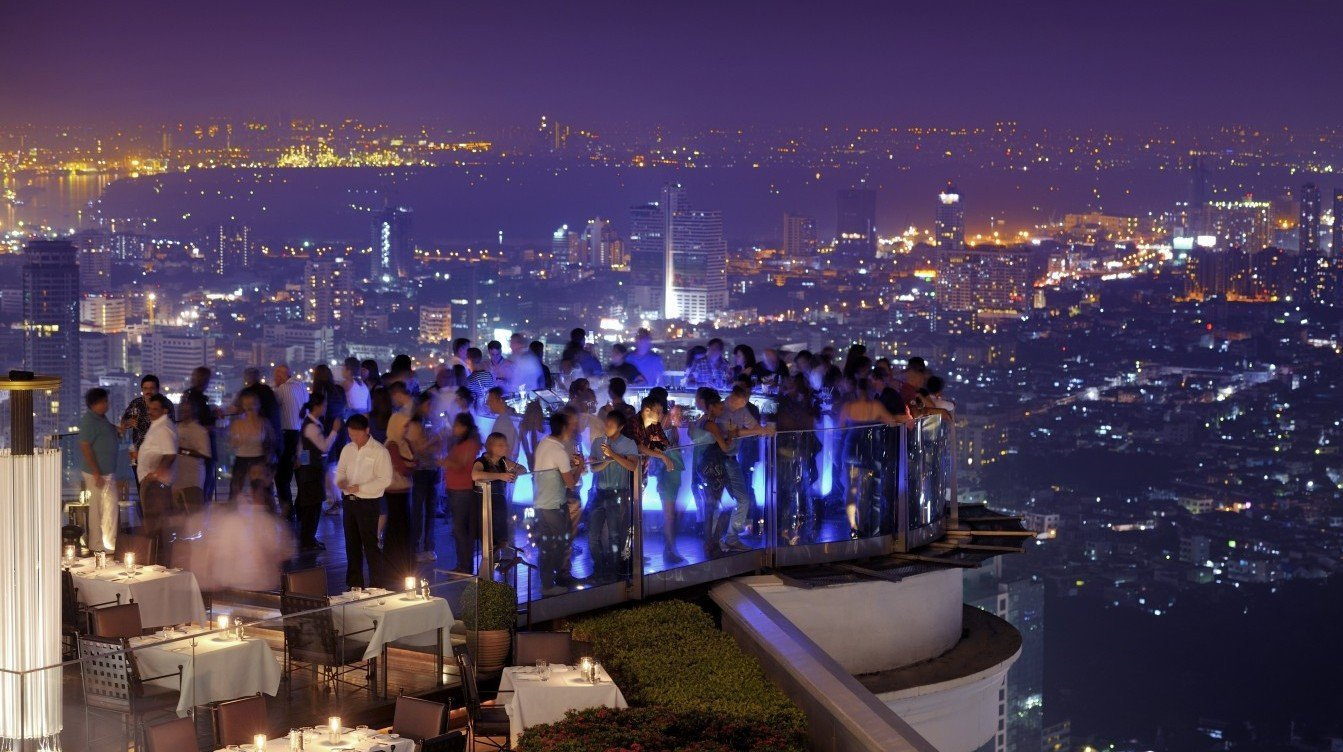 Sky bars in Bangkok Lebua State Tower