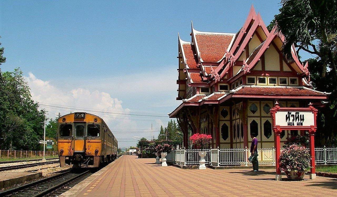 Treinstation van Hua Hin