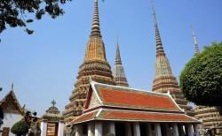 Wat Pho tempel in Bangkok Thailand