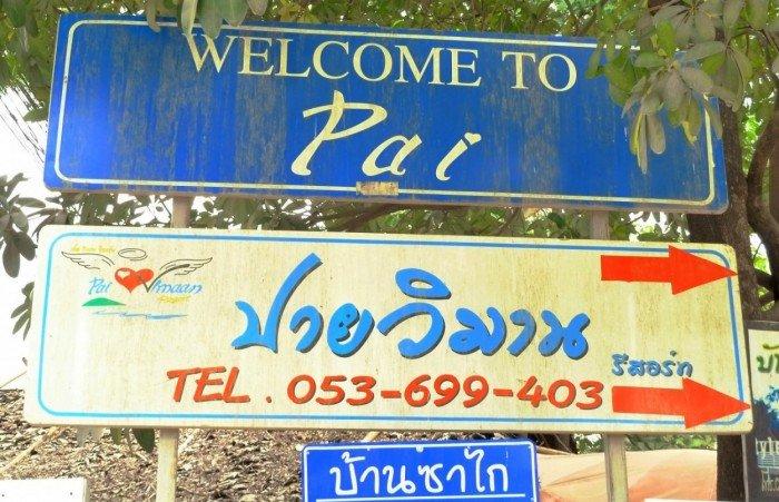 Welkom in Pai