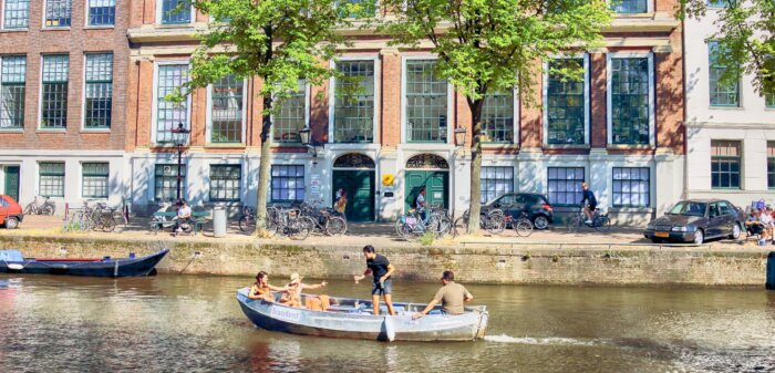 Huur je eigen boot of sloep in Amsterdam