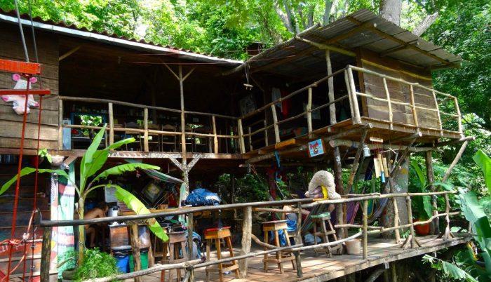 Slapen in een boomhut Treehouse Nicaragua e1464026321667