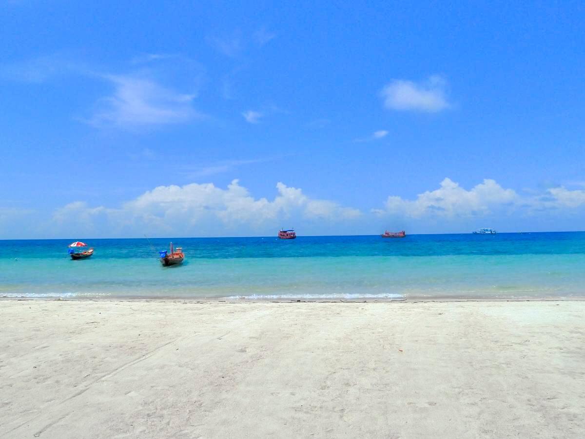 Strand van Koh Tao