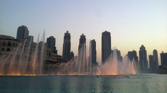 Dubai Fonteinen Show