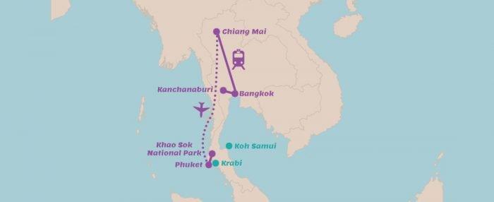 Rondreis Thailand in 3 weken
