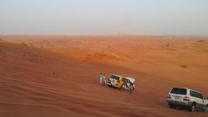 Woestijn Safari Dubai