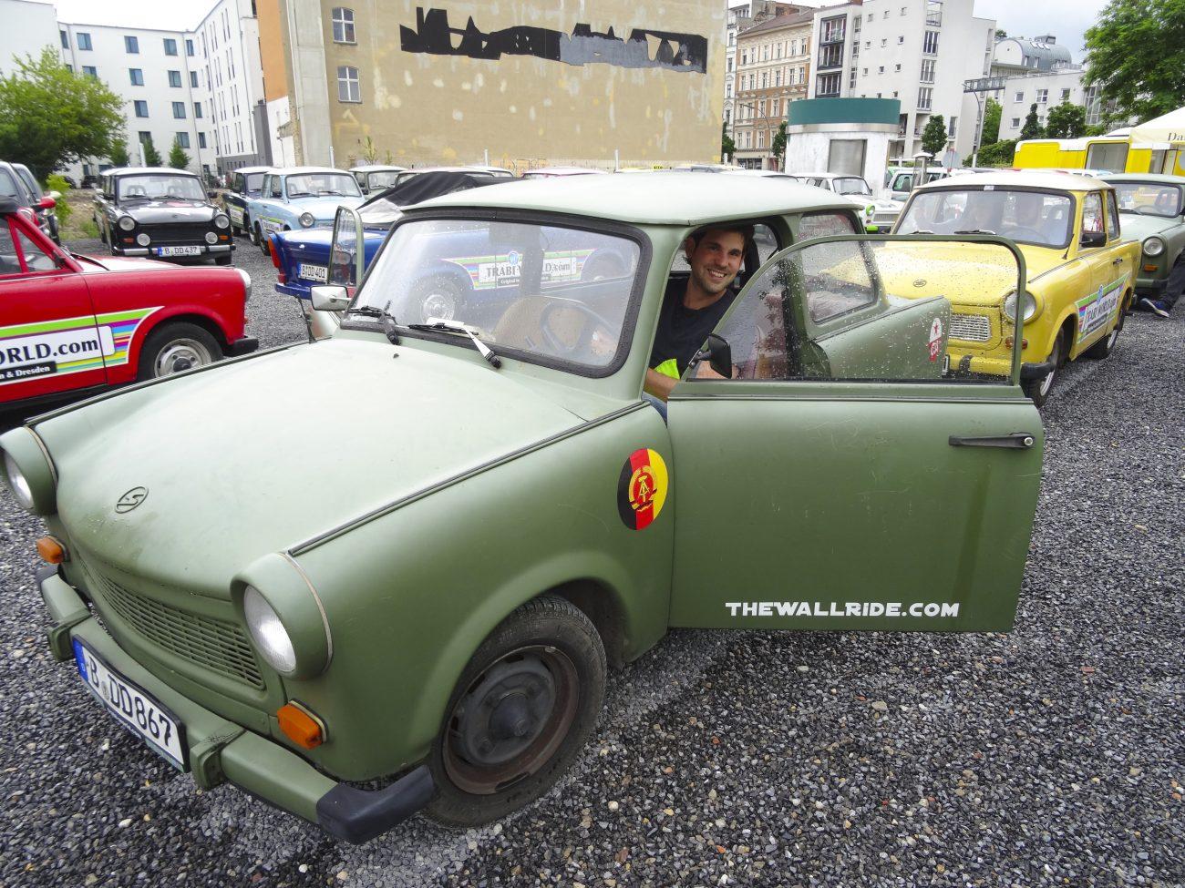 Trabant-safari door Berlijn