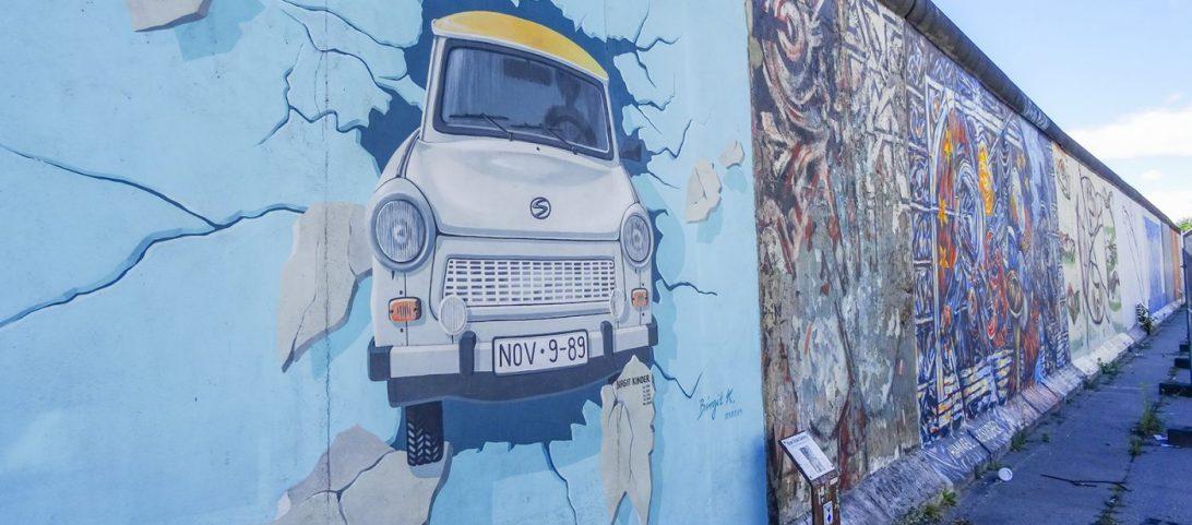 Wereldreis blog 1 Ich bin ein Berliner