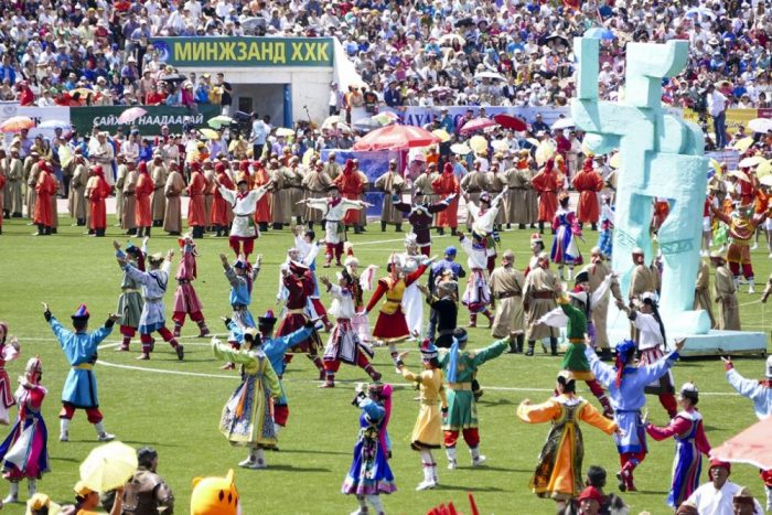 Festivals in Mongolie