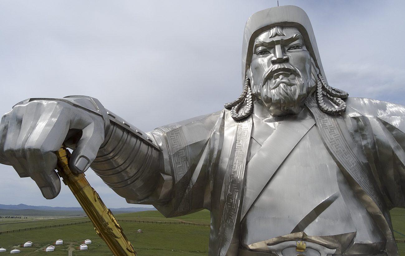 Genghis Khan standbeeld