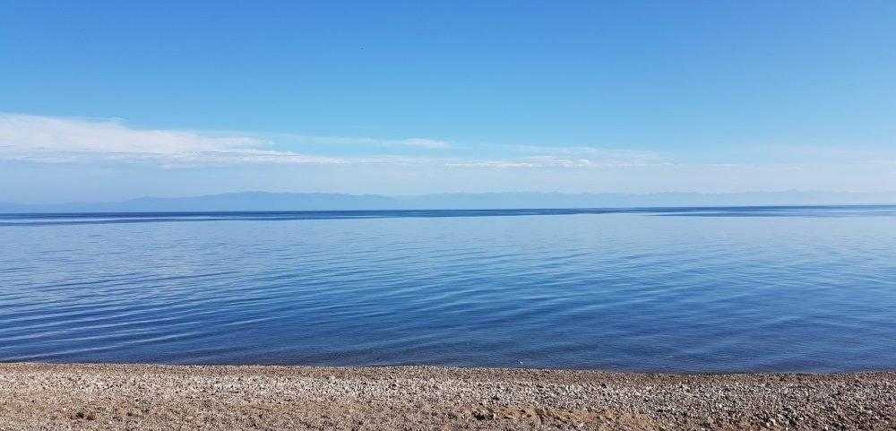 Het Baikal Meer in een 360 Graden video