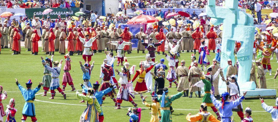 Naadam Festival Mongolia in 360 graden video