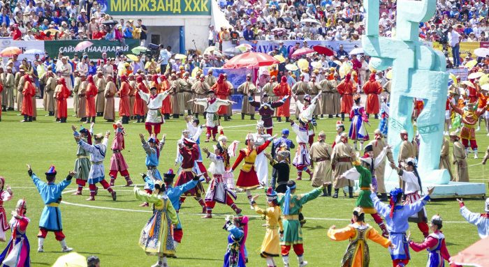 Naadam Festival Mongolia in 360 graden video