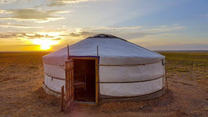Wereldreis Blog 10 Slapen bij een nomadenfamilie in Mongolie