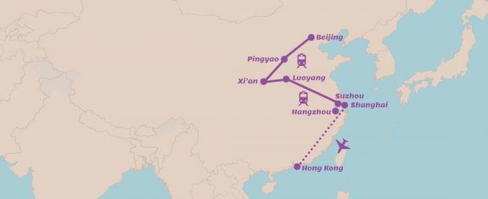 China stedenreis met volop cultuur
