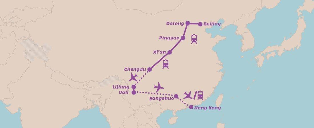 Rondreis China Mooiste Highlights in 3 Weken