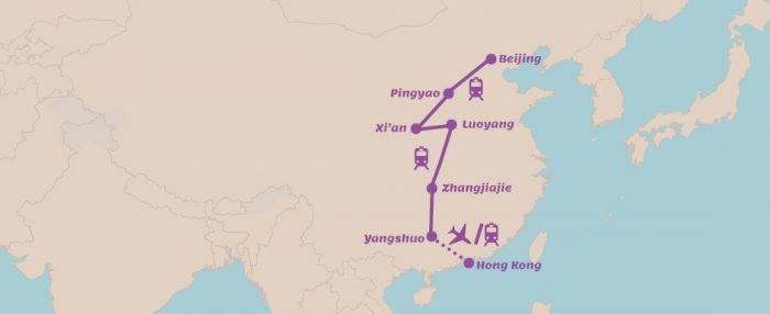 Rondreis China Mooiste natuurparken en steden van China
