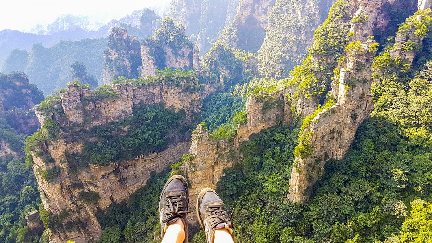 Wereldreis Blog 14 De Avatar bergen & Treinreizen door China