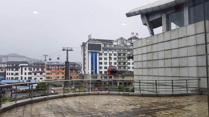 Zhangjiajie stad