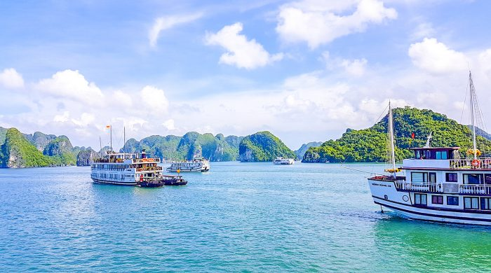 Halong Bay in 360 graden video