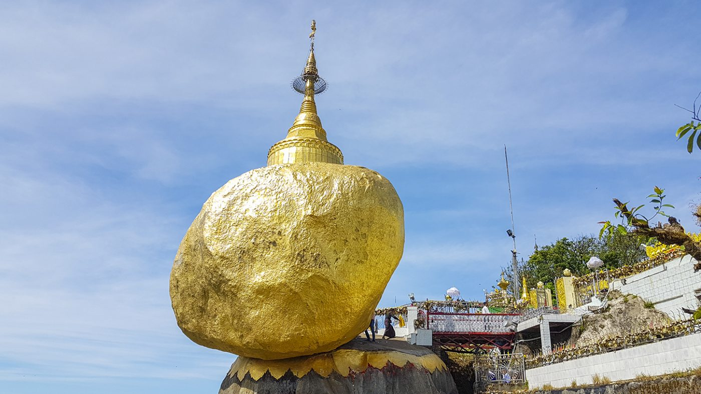 Kyaikto Golden Rock Myanmar