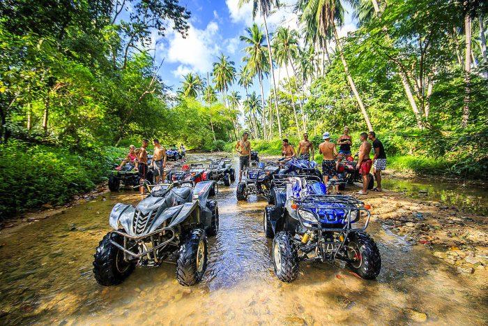 ATV Quad rijden op Koh Samui