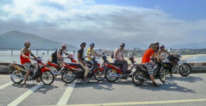 Reis per scooter motor tussen Hue en Hoi An via de Hai Van Pass