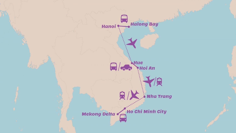 Rondreis Vietnam met kinderen 3 weken Vietnam in rustig tempo