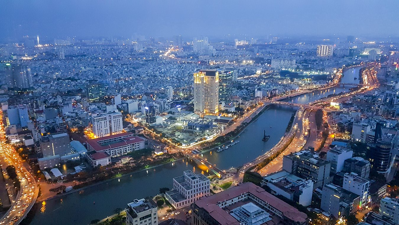 Saigon Skydeck bovenop de Bitexco Financial Tower