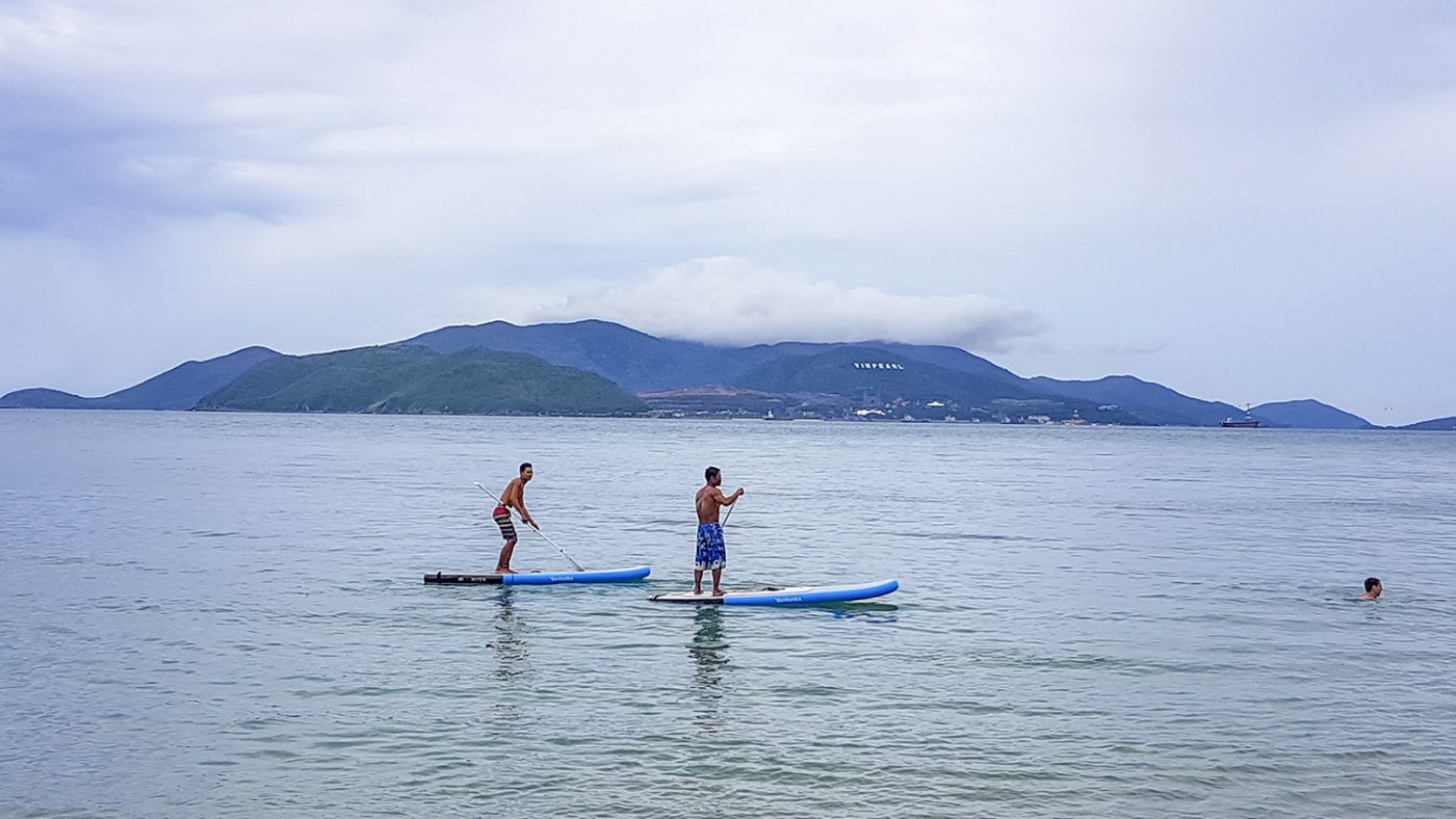 Stand Up Paddleboarden in Nha Trang