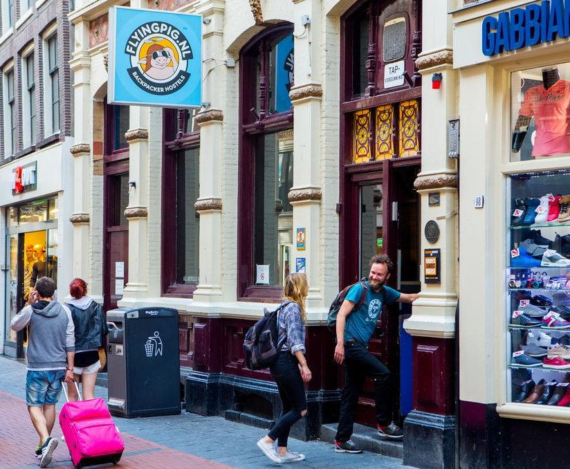 The Flying Pig Downtown Hostel in Amsterdam