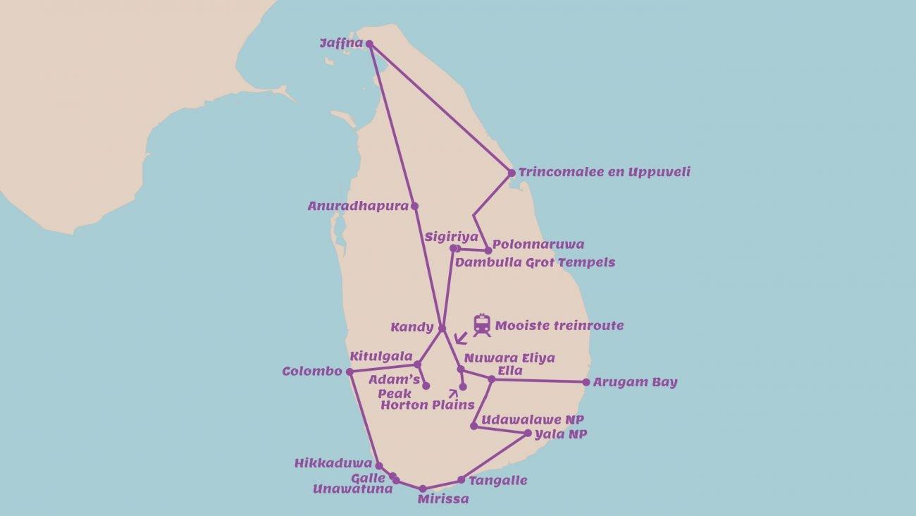 Ultieme rondreis Sri Lanka