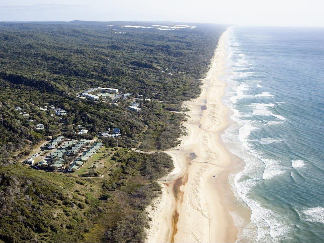 Eurong Beach Resort op Fraser Island
