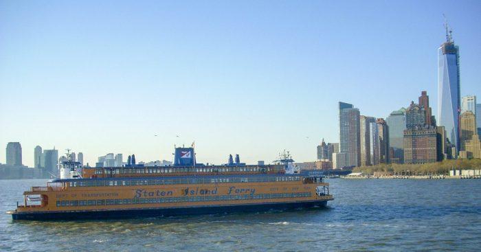 Gratis varen met de Staten Island Ferry