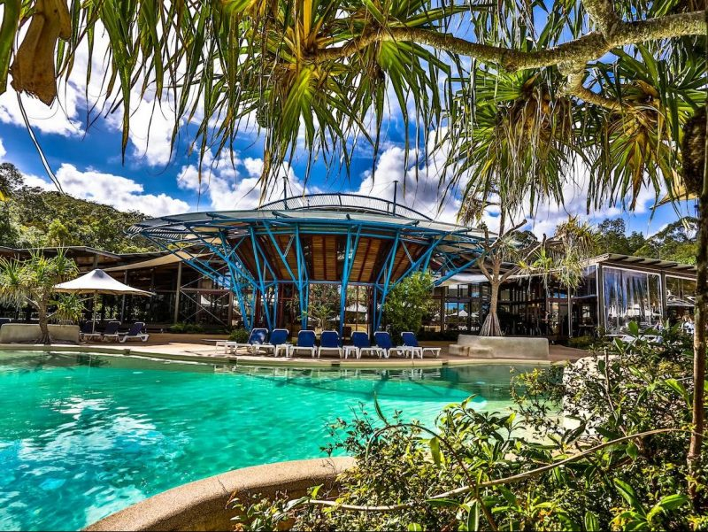 Kingfisher Bay Resort op Fraser Island