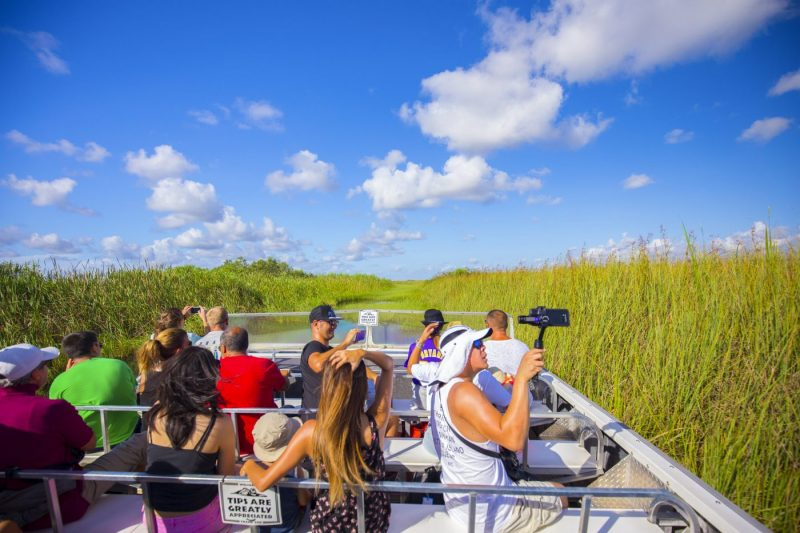 Everglades Nationaal Park Airboat tour