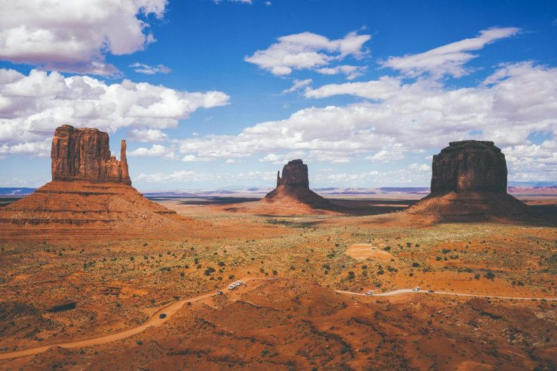 Oljato Monument Valley in Utah Verenigde Staten