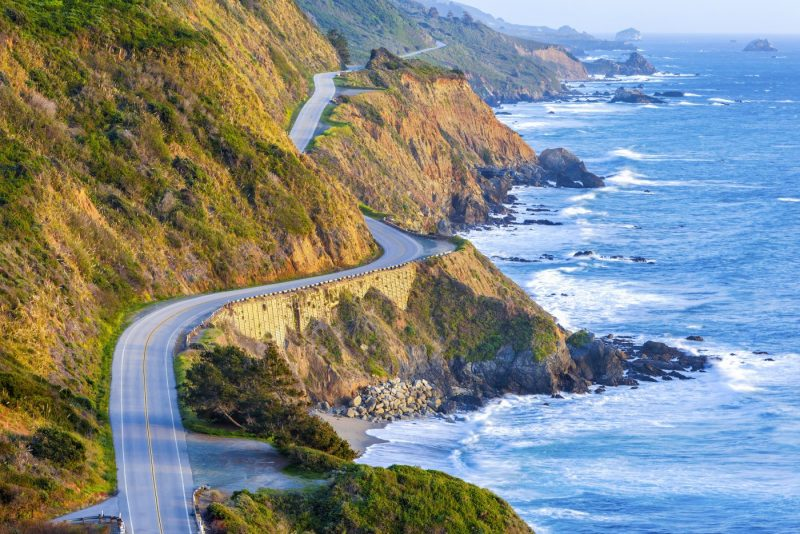 Pacific Coast Highway - Highway 1 in Californie