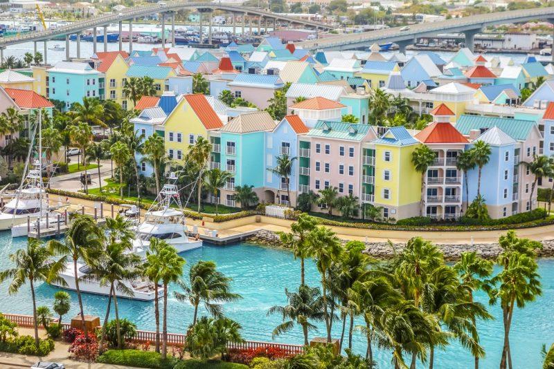 Nassau de hoofdstad van de Bahamas