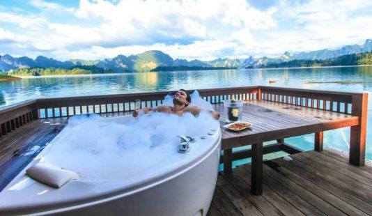 mooiste drijvende hotels in Thailand