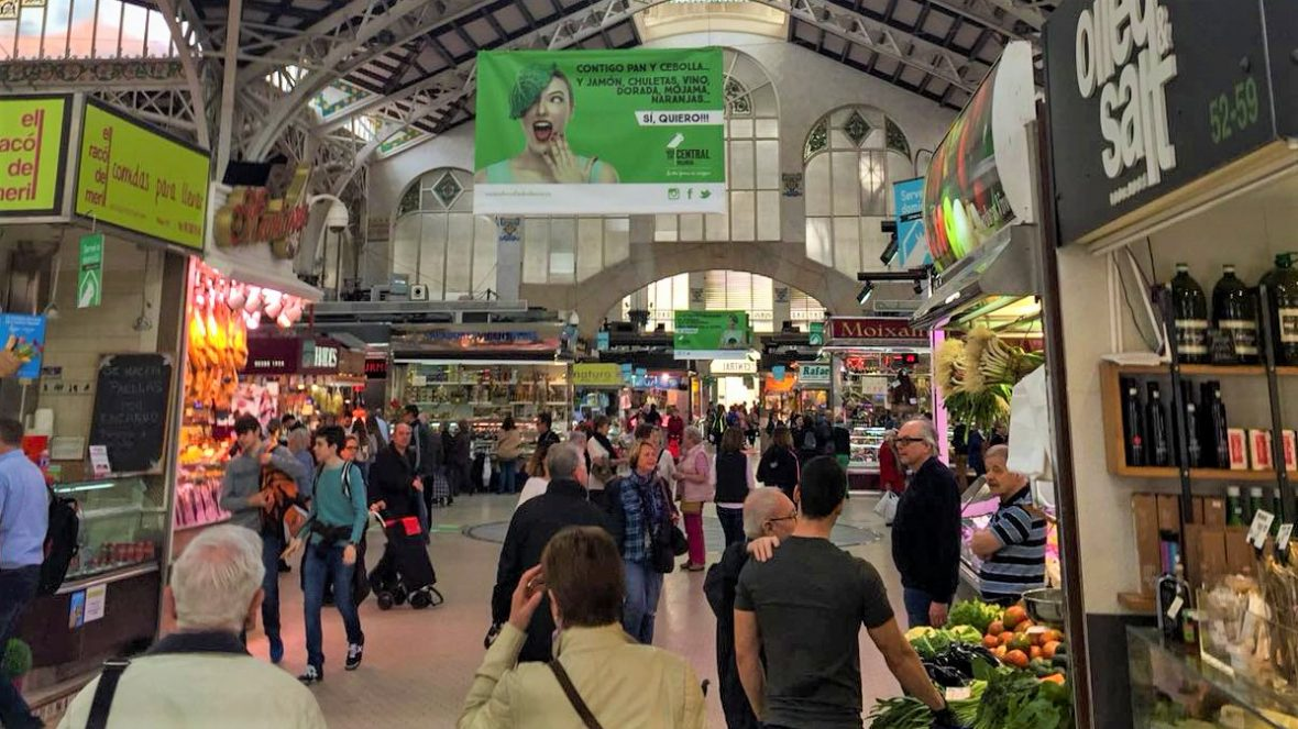 Bezoek de Mercado Central tijdens je citytrip Valencia