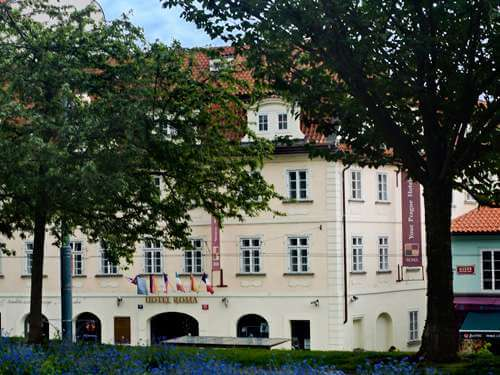 Stedentrip Praag 3, 4, 5 of 6 dagen Hotel Roma- Tjechië - Een comfortabel verblijf op loopafstand van het centrum en onder de Petrín-uitkijktoren