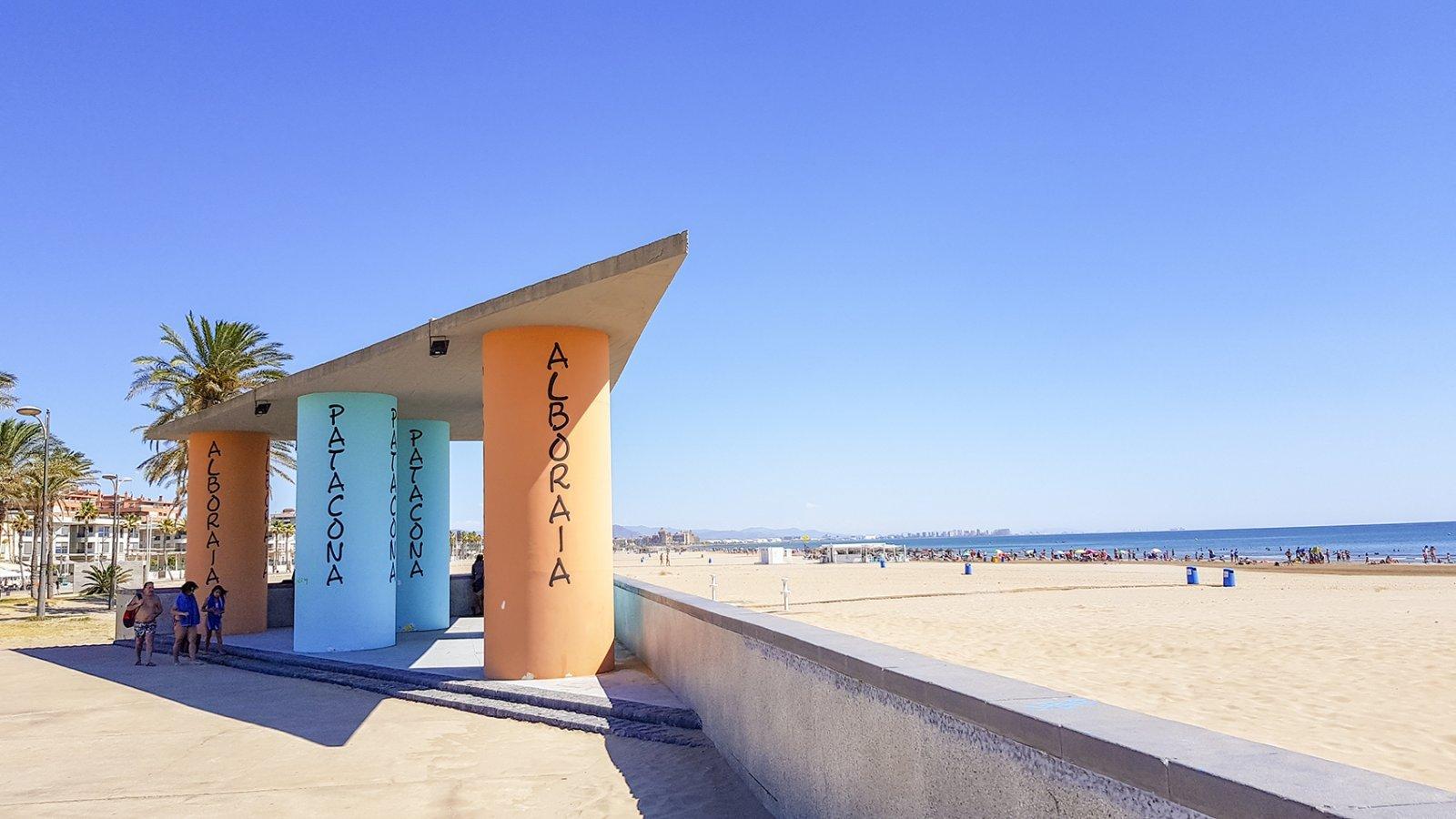 Strand Patacona Valencia