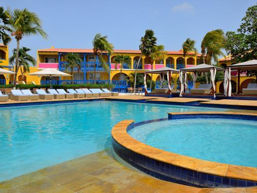 All inclusive zonvakantie Aruba 9 dagen Divi Flamingo Beach Resort - All inclusive