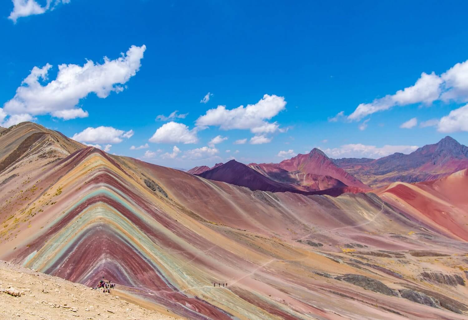 Rainbow Mountain in Peru moet op je bucketlist